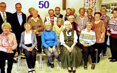 Mütterkreis feiert das 50-jährige Jubiläum