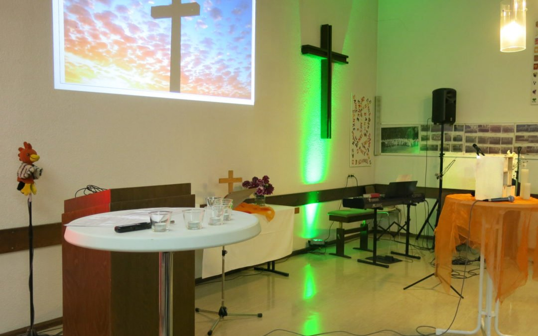 Festgottesdienst zur Wiedereröffnung der Bergkirche