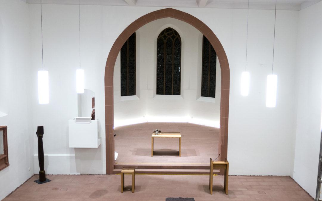 Wiedereröffnung der Bergkirche am Sonntag, den 24. März 2019, um 10.00 Uhr