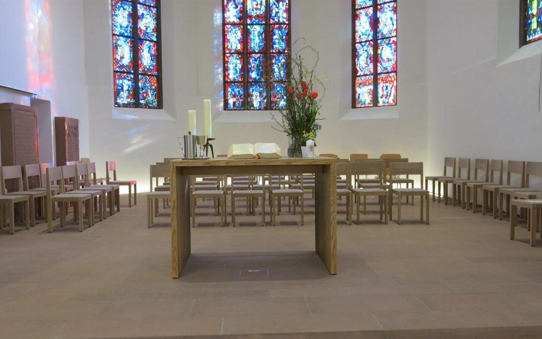 Unsere Kirche erstrahlt in neuem Glanz.